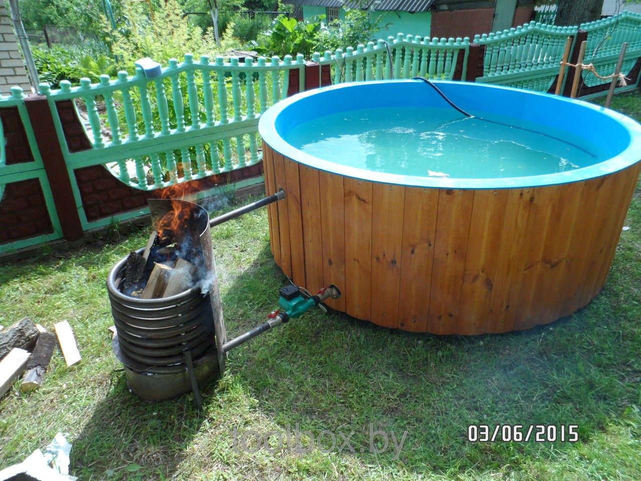 Как подогреть бассейн даче своими руками