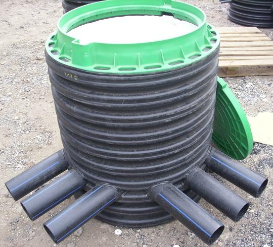 Колодцы кабельные стандартные тюбинги железобетонные размеры